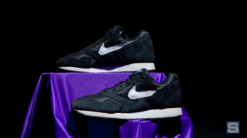 Gate infamous Nikes. These shoes